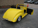 39 Superfly Yellow Golf Cart