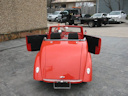 39 Tangelo Orange Golf Cart
