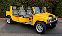 H3 Hummer Limo Golf Cart 1