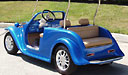 California Roadster Golf Cart with Hard Top 1