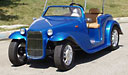 California Roadster Golf Cart with Hard Top 2