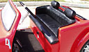 California Roadster Golf Cart with Leather