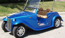 California Roadster Golf Cart with Removable Top 1
