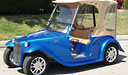 California Roadster Golf Cart with Removable Top 3