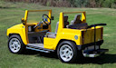 H3 Hummer Custom Golf Cart