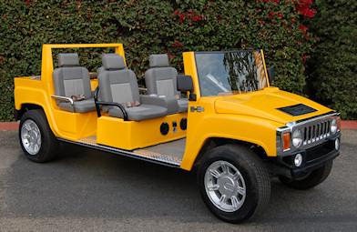 Hummer Limo Golf Cart