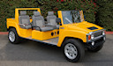 H3 Hummer Limo Custom Golf Cart