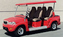 LS Limo Custom Golf Cart